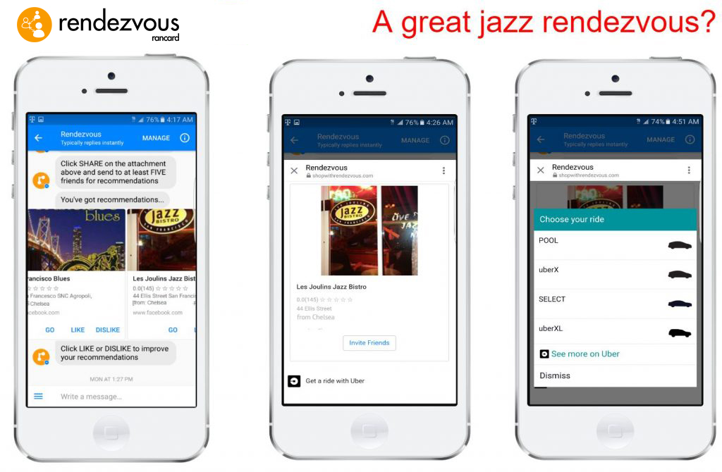 Rendezvous Messenger Bot - Rancard | Connecting brands to